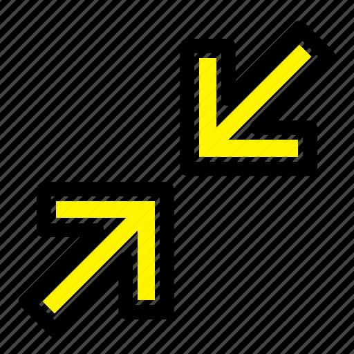 arrow, arrows, zoom icon