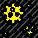 astronaut, meteor, space icon