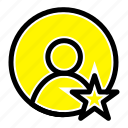 profile, rating, user icon