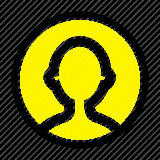 avatar, profile, user icon
