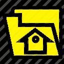 file, home, service, setting icon