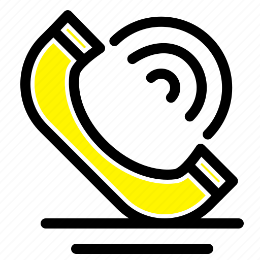 call, communication, phone, services icon