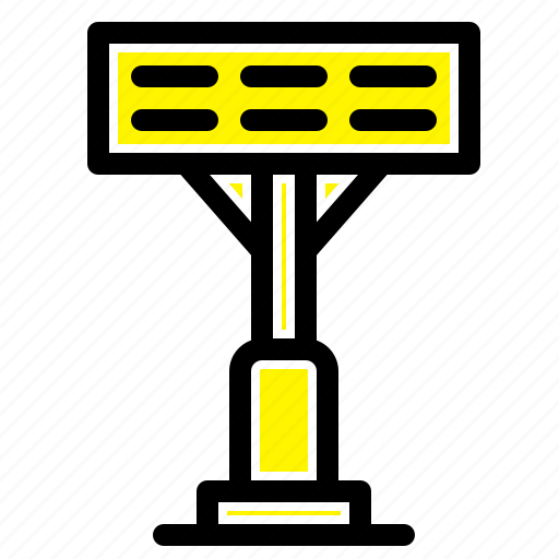 construction, light, stadium icon