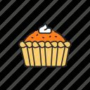 pie, baked, tart icon