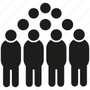 man, group, crowd, people icon