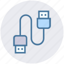 cable, computer cable, connector, ethernet, hdmi cable icon