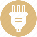 cable, connector, electronics, plug, uk icon