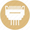 connector, device, gadget, technology, usb icon