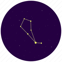 bootes, constellation, sky, stars icon