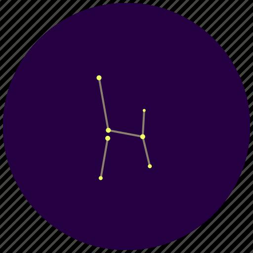 altar, ara, constellation, sky, stars icon