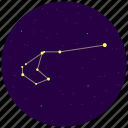 carina, constellation, sky, stars icon
