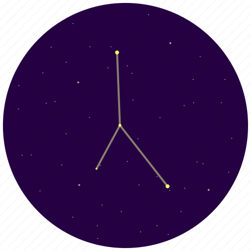 cancer, constellation, sky, stars icon