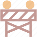 construction, construction barrier, road barrier, street barrier, traffic barrier icon