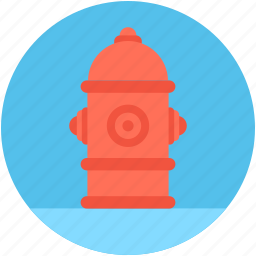 city fire hydrant, emergency, emergency equipment, fire hydrant, water supply icon