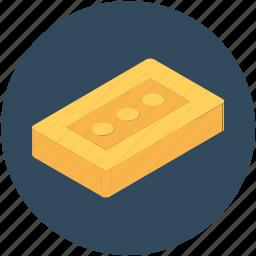 brick, building, construction, wall, wall brick icon