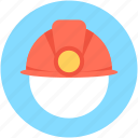 builder hat, hardhat, headgear, miner cap, worker cap icon