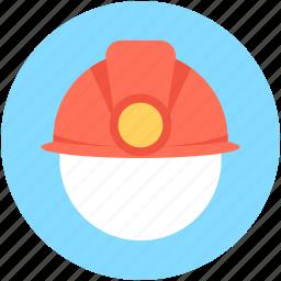 builder hat, hardhat, headgear, miner cap, worker cap icon