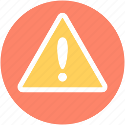 alert, caution, exclamation mark, hazard, warning icon