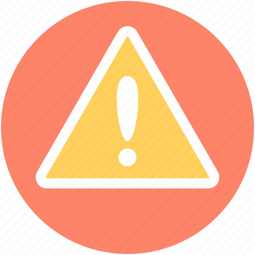 Alert, caution, exclamation mark, hazard, warning icon - Download on Iconfinder
