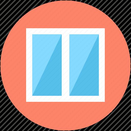 Furniture, home window, living room window, room window, window icon - Download on Iconfinder