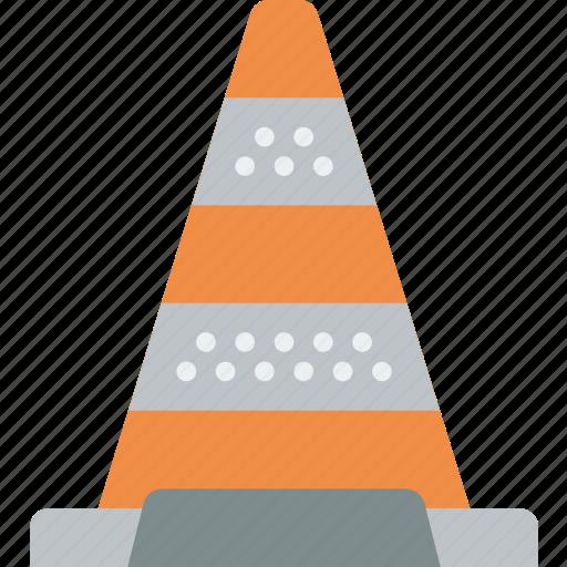 cone, construction, traffic icon