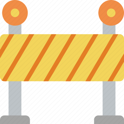 barrier, build, construction, road, work icon