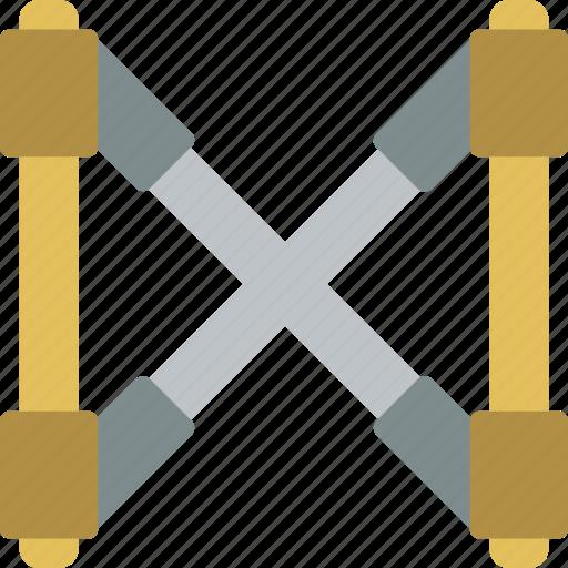 brace, build, construction, develop, structure icon