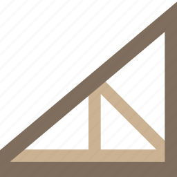 build, construction, develop, joist, roof, structure icon