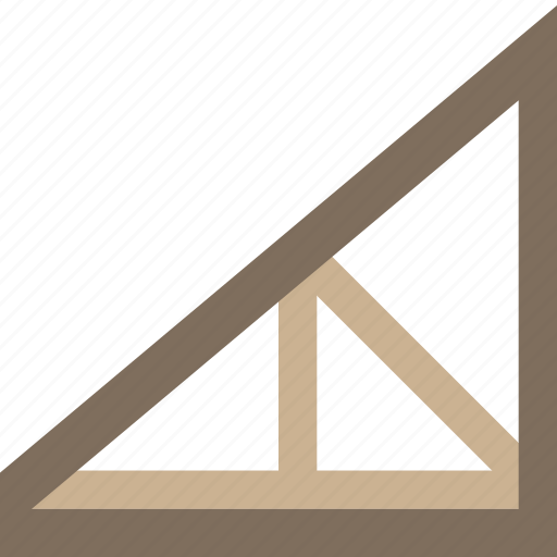 Build Construction Develop Joist Roof Structure Icon