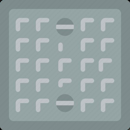 build, construction, cover, drain icon