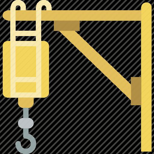 build, construction, crane icon