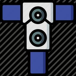 construction, plan, scaffolding icon