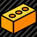 brick, build, construction, equipment, supplies icon