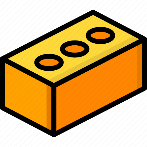 brick, build, construction, equipment, supplies icon