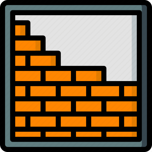 bricklaying, build, construction, develop, structure icon