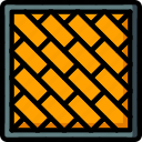 build, construction, equipment, paving, supplies icon