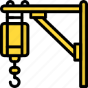 construction, crane, machinery icon