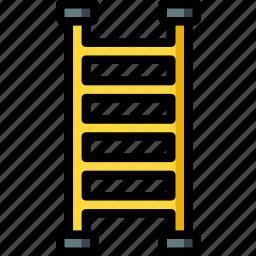 build, construction, equipment, ladder, supplies icon