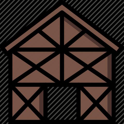 build, construction, develop, frame, house, structure icon