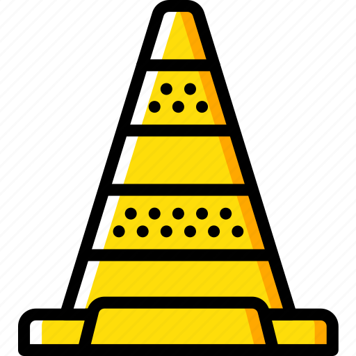 cone, construction, road, traffic, work icon