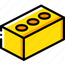 brick, build, construction, equipment icon
