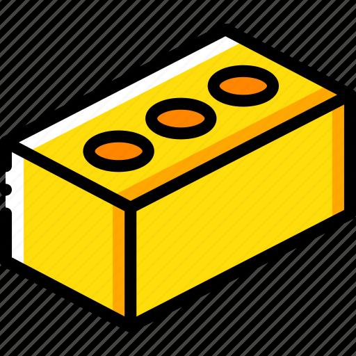 brick, build, construction, equipment icon