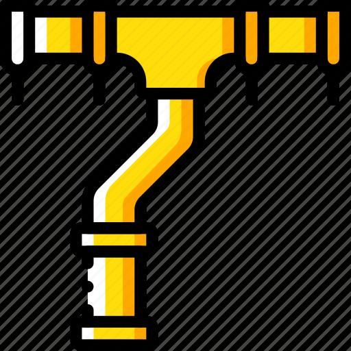 build, construction, develop, guttering, structure icon