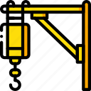 construction, crane, machinery icon