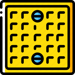 build, construction, cover, drain, structure icon