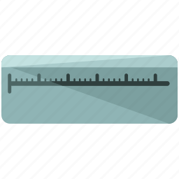 construction, equipment, estate, maintenance, real, ruler, tool icon