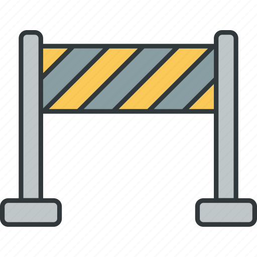 blocking, lock, locked, obstacles, security icon