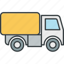 freight, truck icon