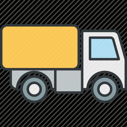 freight, truck, van icon