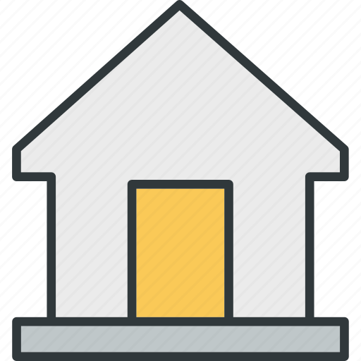 building, house, penthouse, warehouse icon